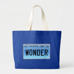 State of Wonder Tote Bags