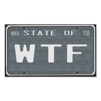 State of WTF Poster