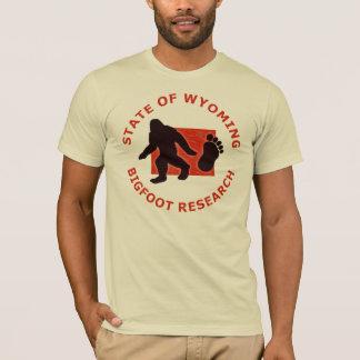 State of Wyoming Bigfoot Research T-Shirt