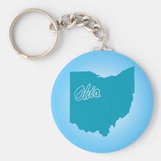 State Ohio Keychain