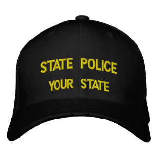 STATE POLICE (ADD YOUR STATE) CAP