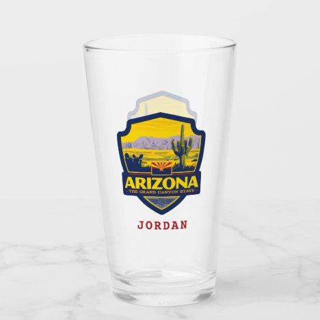 State Pride   Arizona 2 Glass