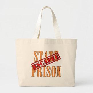 State Prison Escapee Halloween Humor Canvas Bag