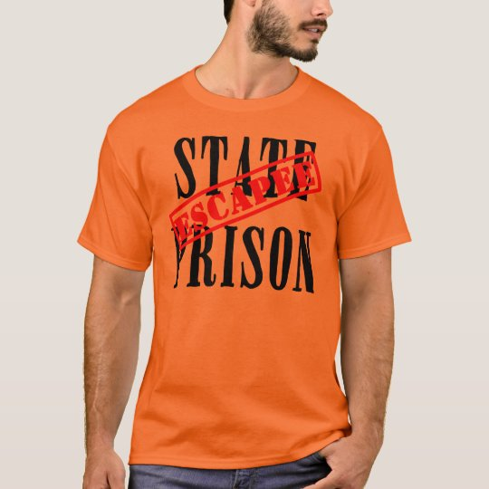State Prison Escapee Halloween T shirt