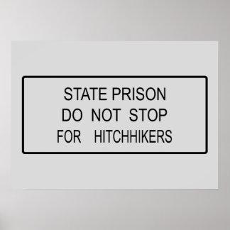 State Prison Poster