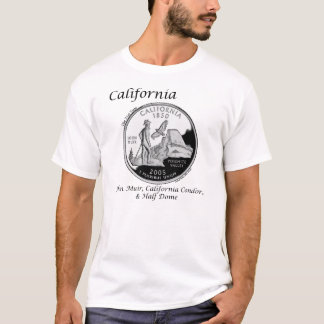 State Quarter - California T-Shirt