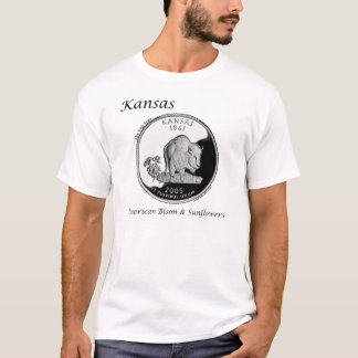 State Quarter - Kansas T-Shirt