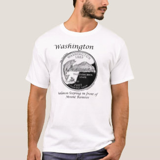 State Quarter - Washington T-Shirt