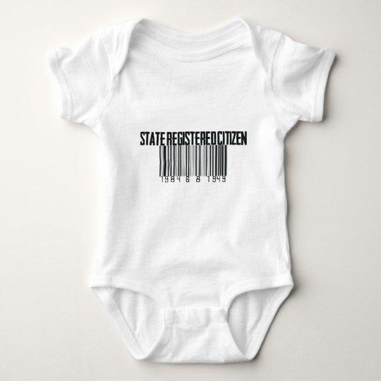 State Registered Baby Bodysuit