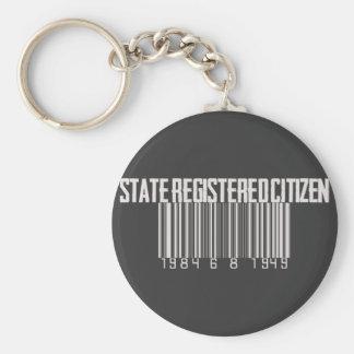 State Registered Citizen Keychain