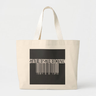 State Registered Citizen Large Tote Bag