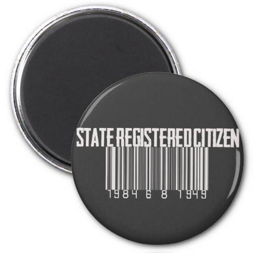 State Registered Citizen Magnets