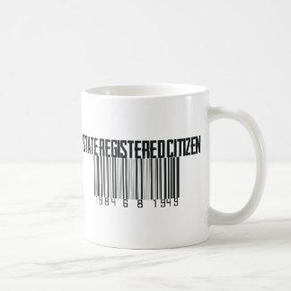 State Registered Coffee Mug