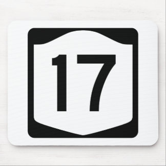 State Route 17, New York, USA Mouse Pad