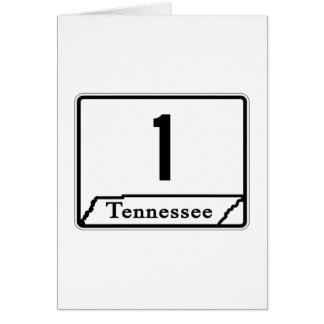 State Route 1, Tennessee, USA Card