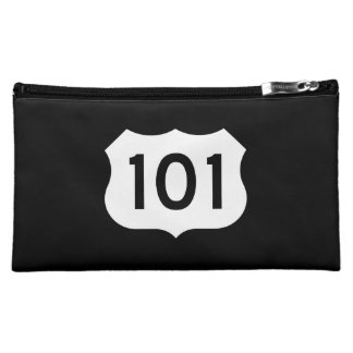 State Route 1, xxx, USA Makeup Bag