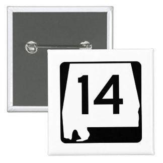State Route 1, xxxx, USA Pinback Button