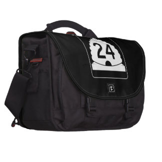 State Route 24, Utah, USA Laptop Commuter Bag
