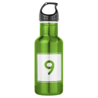 State Route 9, Maine, USA Stainless Steel Water Bottle