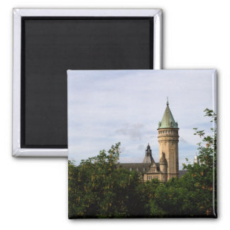 State Savings Bank (Spuerkees), Luxembourg 2 Inch Square Magnet