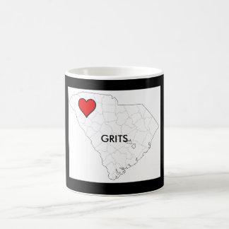 State SC GRITS Mug White 11 oz Classic White