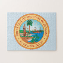 State Seal of Florida. Jigsaw Puzzle