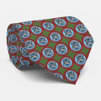 State Seal of Michigan Neck Tie