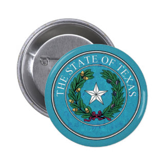 STATE SEAL OF TEXAS PINBACK BUTTON