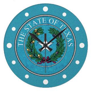 STATE SEAL OF TEXAS CLOCKS