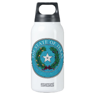 STATE SEAL OF TEXAS INSULATED WATER BOTTLE