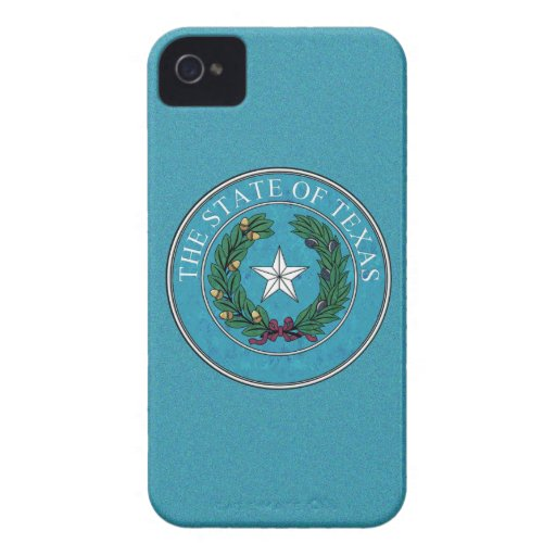 STATE SEAL OF TEXAS iPhone 4 Case-Mate CASE