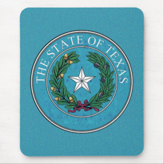 STATE SEAL OF TEXAS MOUSE PAD
