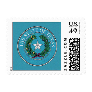 STATE SEAL OF TEXAS POSTAGE