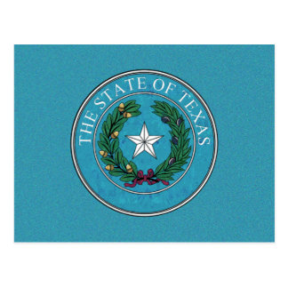 STATE SEAL OF TEXAS POSTCARD