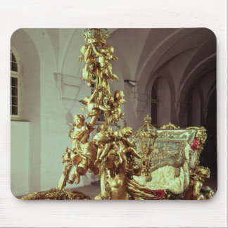 State sleigh of Ludwig II  built 1872-80 Mouse Pad