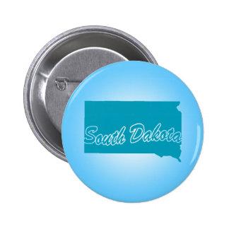 State South Dakota Button