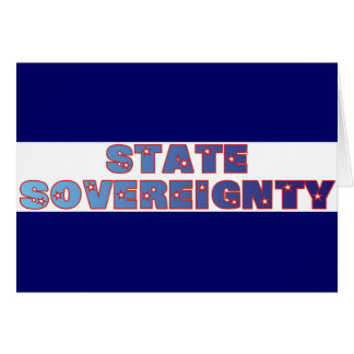 State Sovereignty Card
