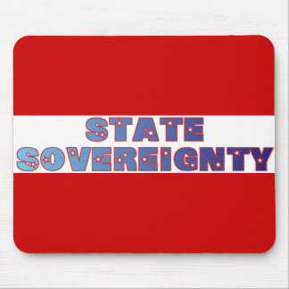 State Sovereignty Mouse Pad