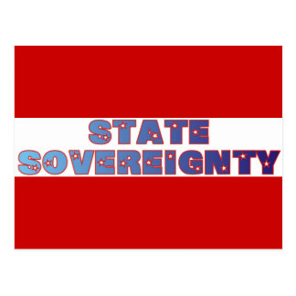 State Sovereignty Postcard