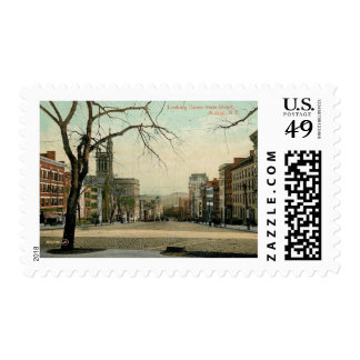 State St., Albany, New York Vintage Postage