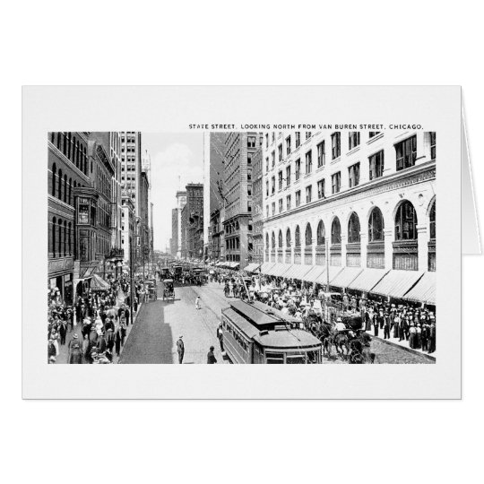 State Street, Chicago, Illinois Card