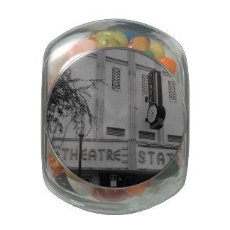 State Theatre Glass Jar