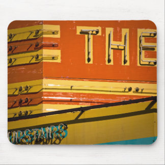 State Theatre Marquee Mouse Pad