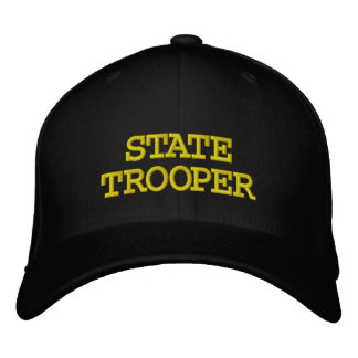 STATE TROOPER EMBROIDERED BASEBALL CAP