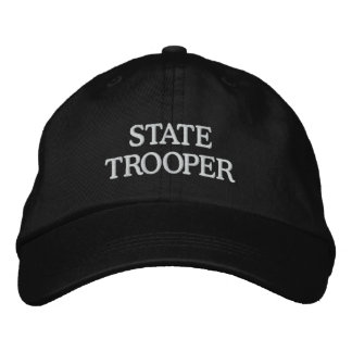 STATE TROOPER EMBROIDERED BASEBALL CAPS