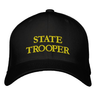 STATE TROOPER EMBROIDERED HATS