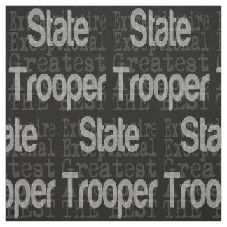 State Trooper Extraordinaire Fabric