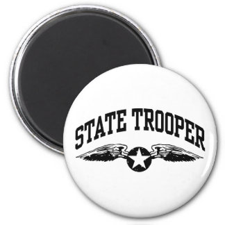 State Trooper Refrigerator Magnets
