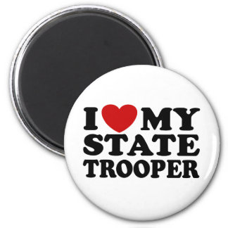 State Trooper Refrigerator Magnet