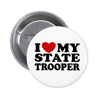 State Trooper Pinback Button